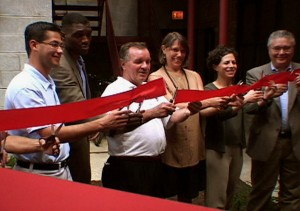 ACME ribbon-cutting ceremony